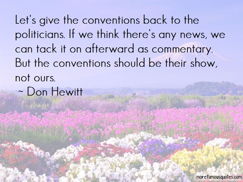 Don Hewitt Quotes Pictures 2