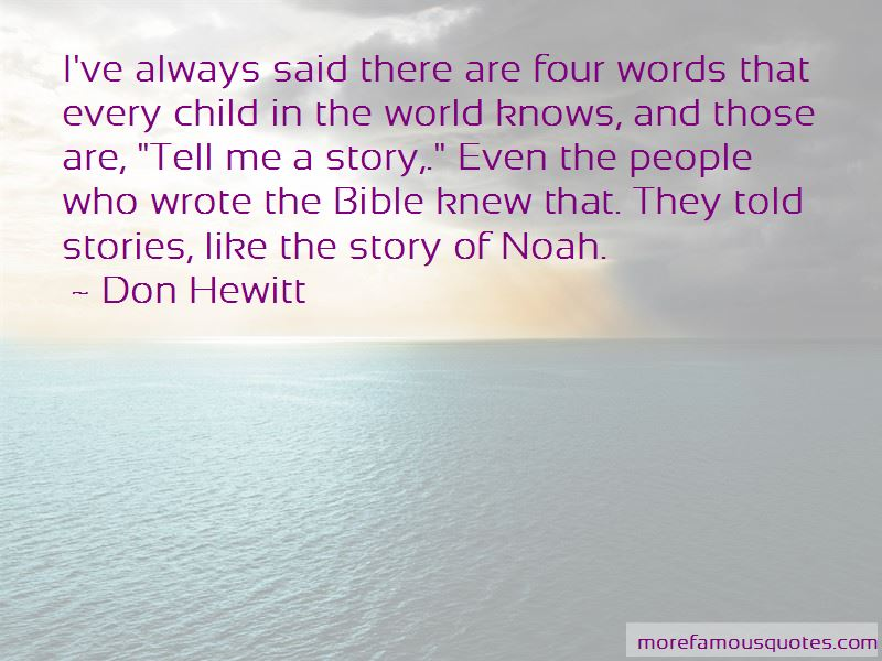 Don Hewitt Quotes Pictures 3