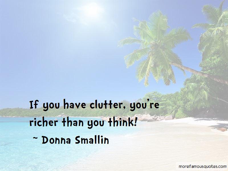 Donna Smallin Quotes