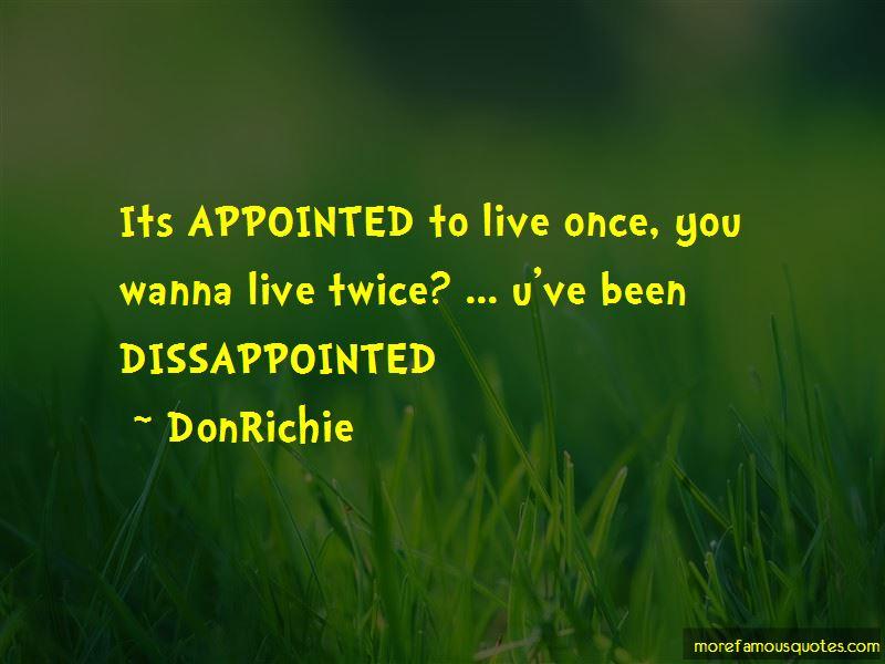 DonRichie Quotes Pictures 2