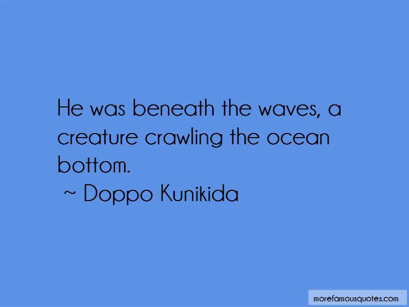 Doppo Kunikida Quotes