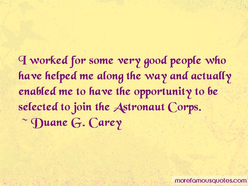 Duane G. Carey Quotes Pictures 3