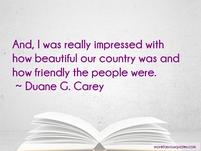 Duane G. Carey Quotes Pictures 4