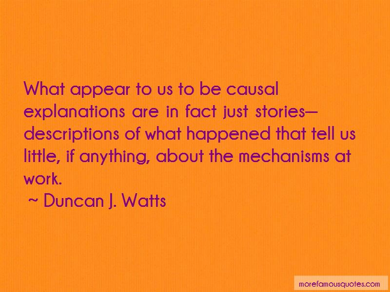 Duncan J. Watts Quotes