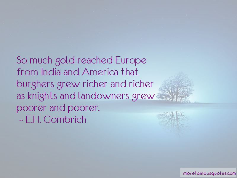 E.H. Gombrich Quotes