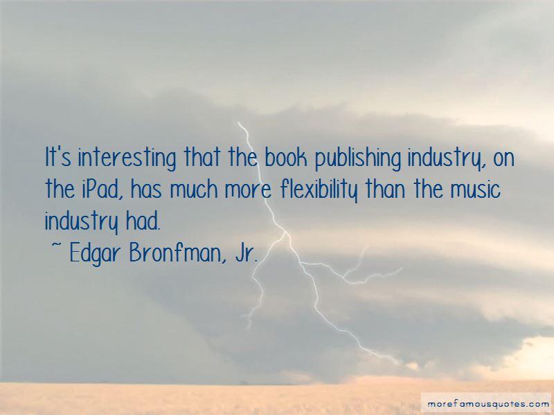 Edgar Bronfman, Jr. Quotes Pictures 3