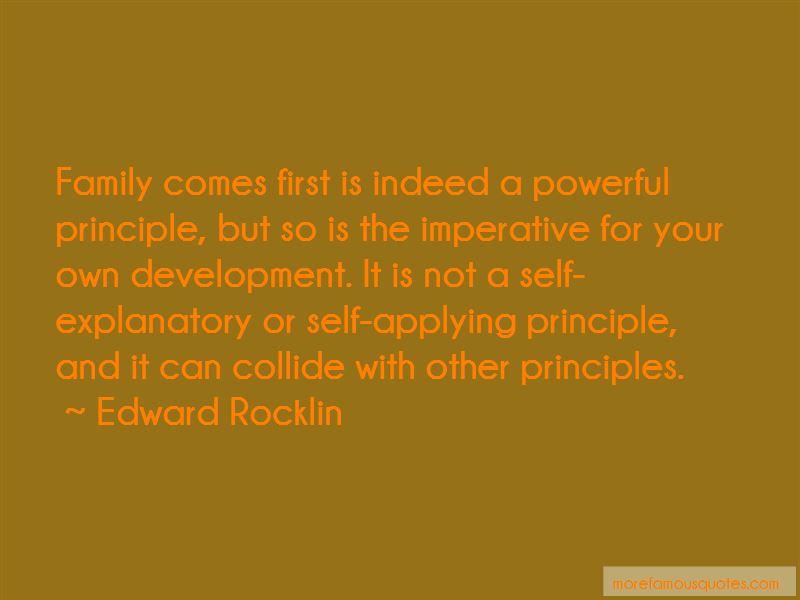 Edward Rocklin Quotes