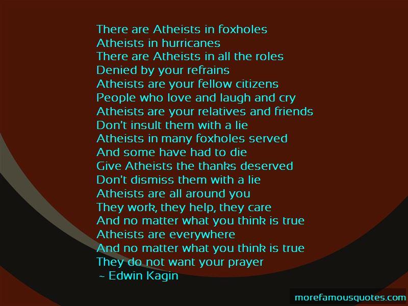 Edwin Kagin Quotes