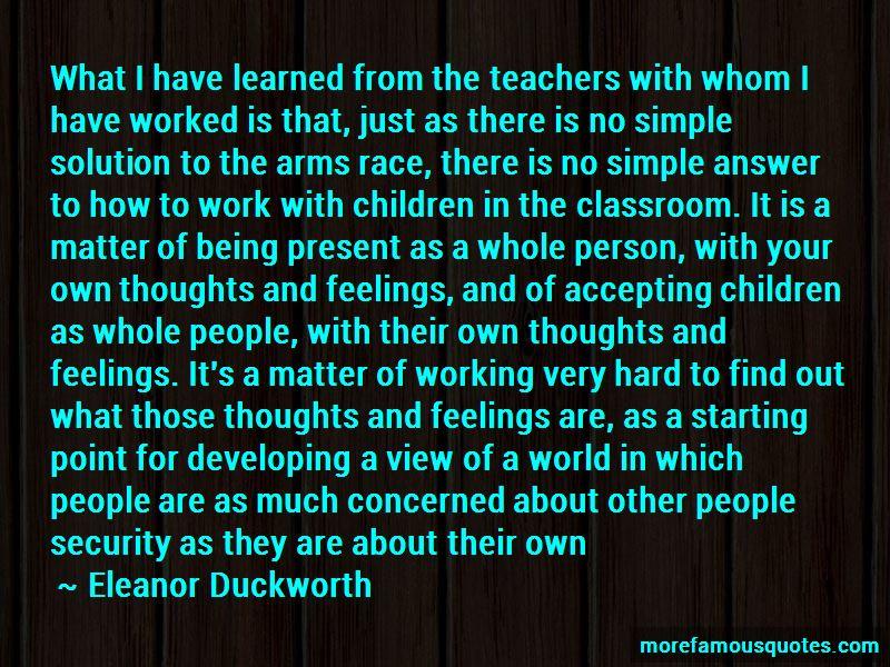 Eleanor Duckworth Quotes Pictures 4