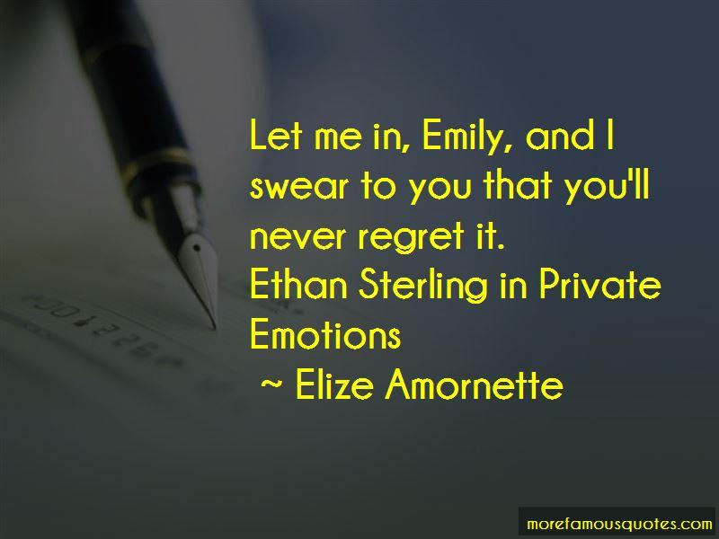 Elize Amornette Quotes