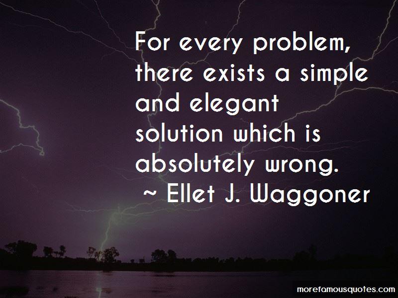 Ellet J. Waggoner Quotes