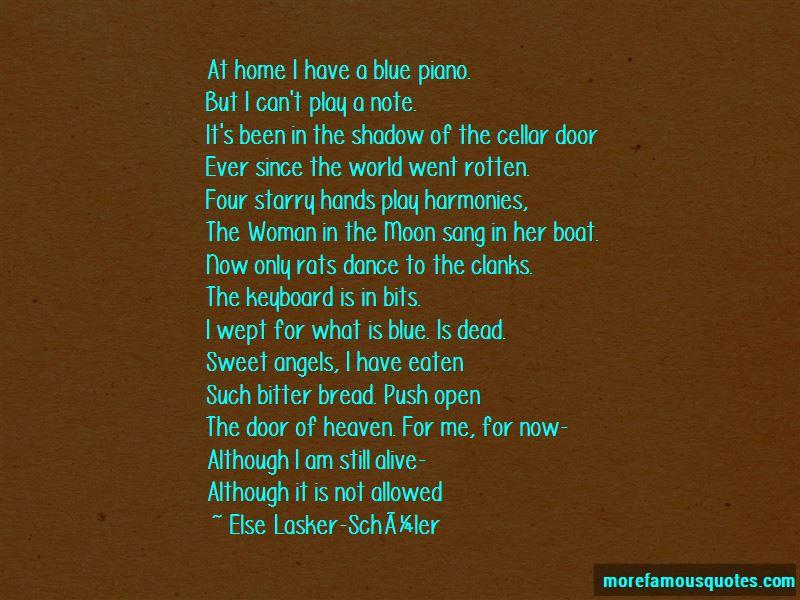 Else-Lasker-Schuler Quotes Pictures 2