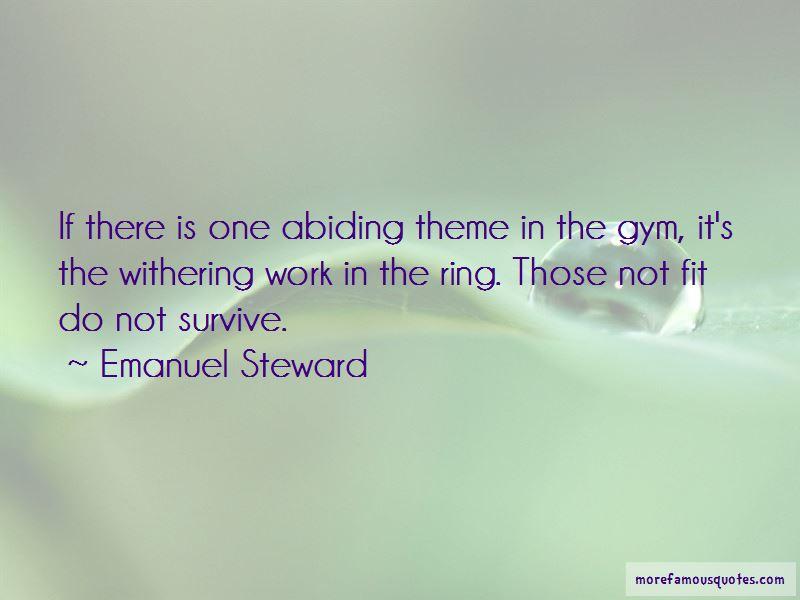 Emanuel Steward Quotes