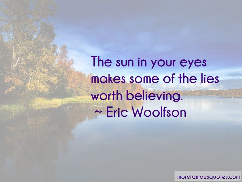 Eric Woolfson Quotes