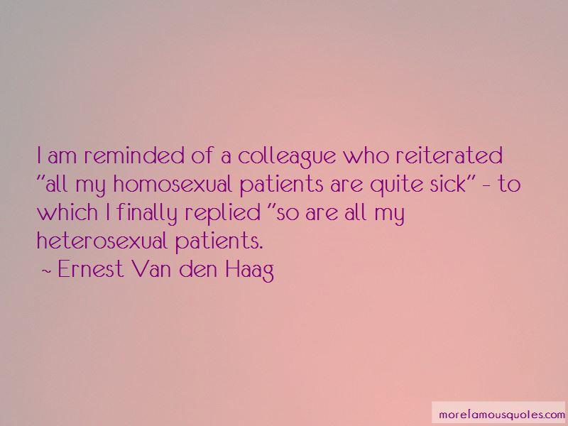 Ernest Van Den Haag Quotes Pictures 3