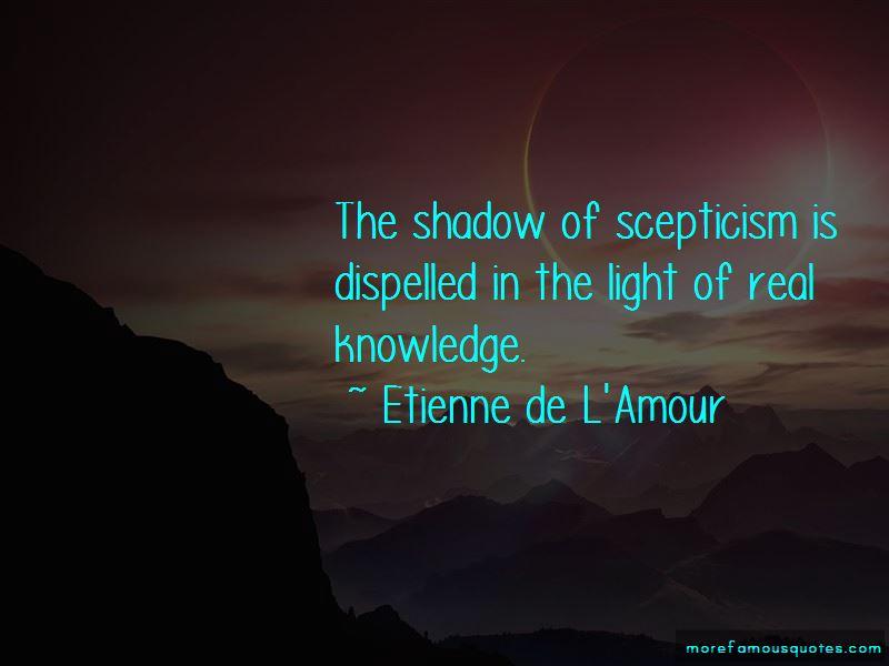 Etienne De L'Amour Quotes Pictures 2