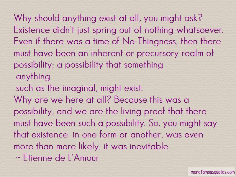 Etienne De L'Amour Quotes Pictures 4