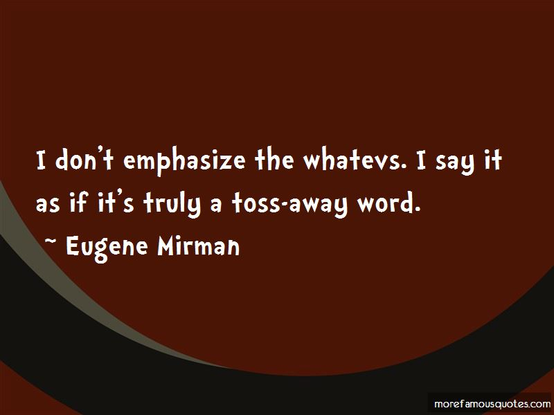 Eugene Mirman Quotes Pictures 4