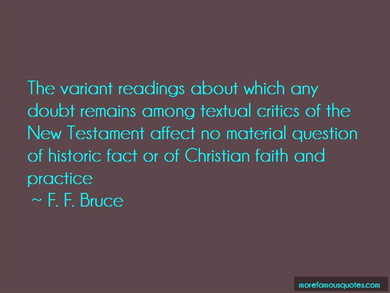 F. F. Bruce Quotes Pictures 4