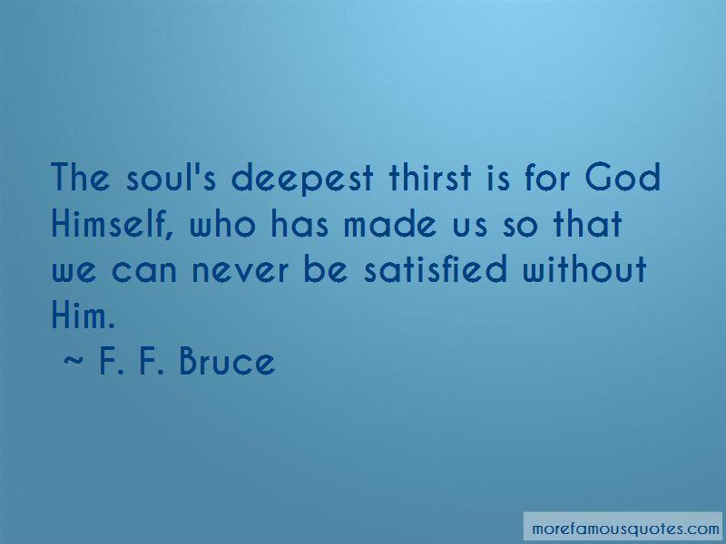 F. F. Bruce Quotes