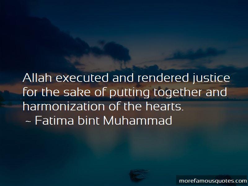 Fatima Bint Muhammad Quotes Pictures 4