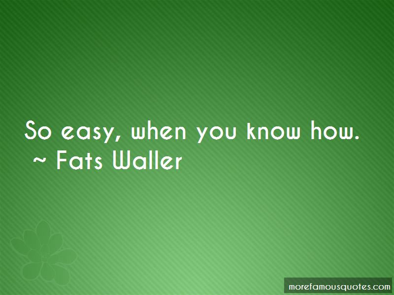 Fats Waller Quotes Pictures 2