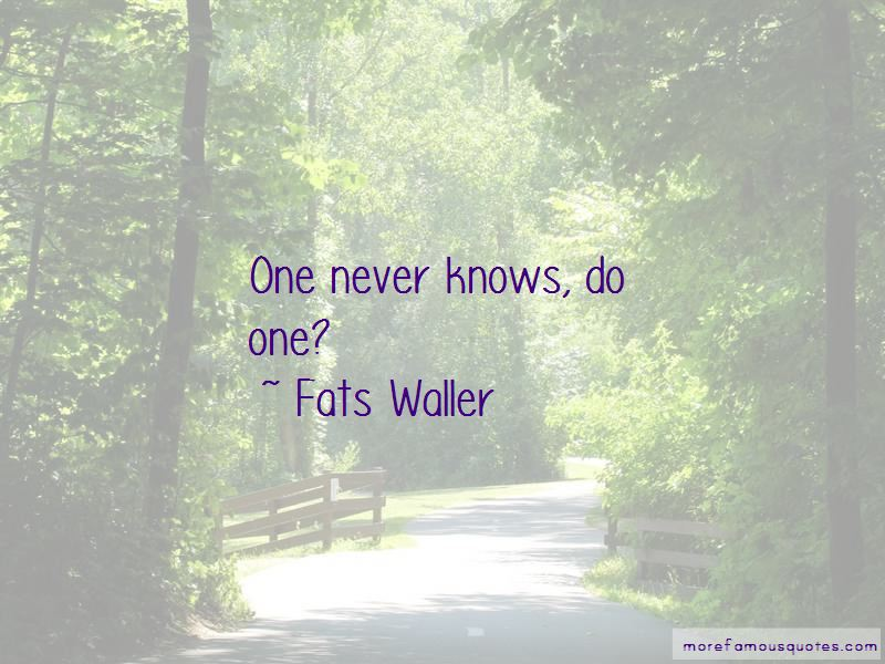 Fats Waller Quotes Pictures 4