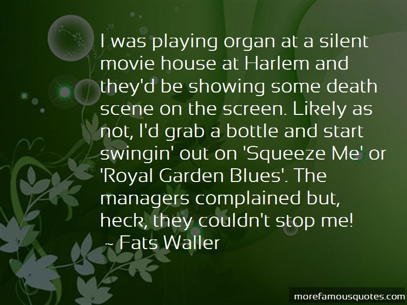 Fats Waller Quotes