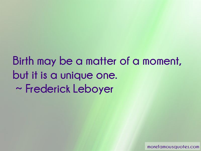 Frederick Leboyer Quotes Pictures 4