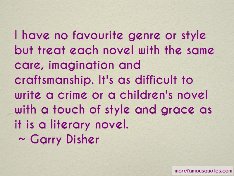 Garry Disher Quotes Pictures 2