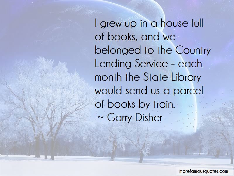 Garry Disher Quotes Pictures 3
