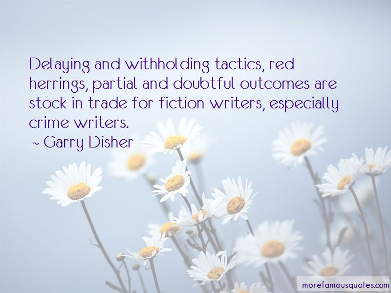 Garry Disher Quotes Pictures 4