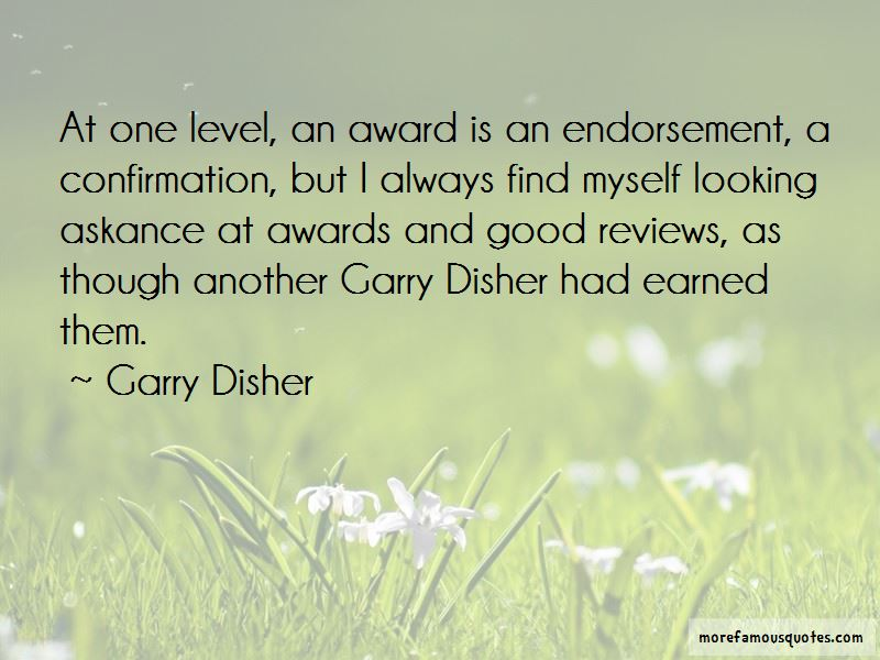 Garry Disher Quotes