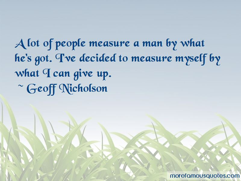 Geoff Nicholson Quotes Pictures 4