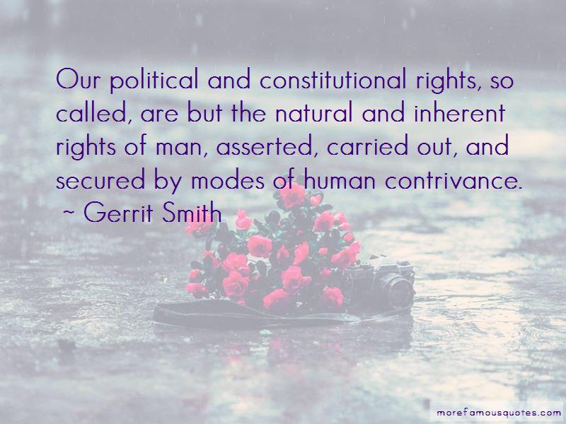 Gerrit Smith Quotes