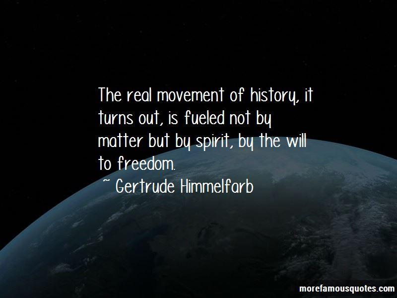 Gertrude Himmelfarb Quotes Pictures 3