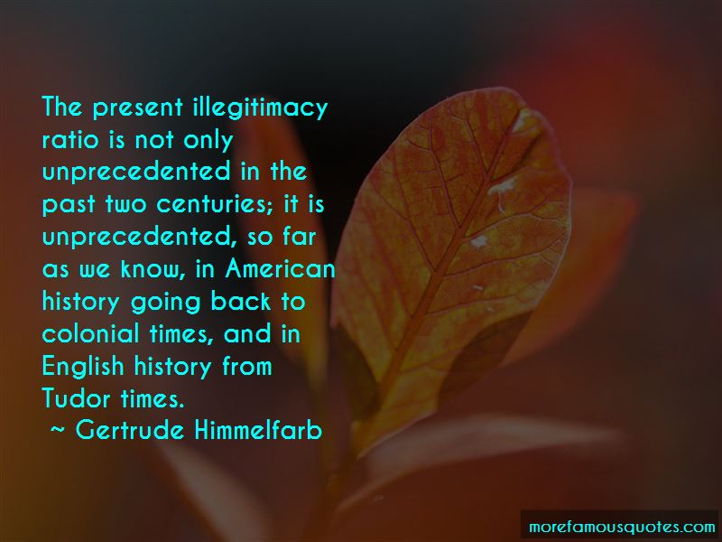 Gertrude Himmelfarb Quotes