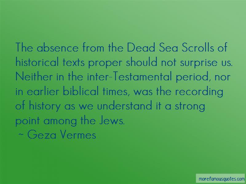 Geza Vermes Quotes Pictures 4