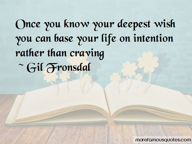 Gil Fronsdal Quotes