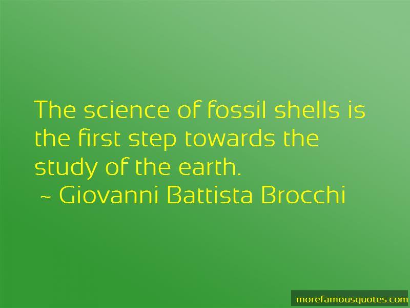 Giovanni Battista Brocchi Quotes