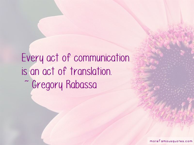 Gregory Rabassa Quotes Pictures 2