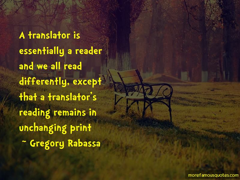 Gregory Rabassa Quotes Pictures 3