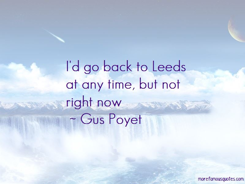Gus Poyet Quotes Pictures 4