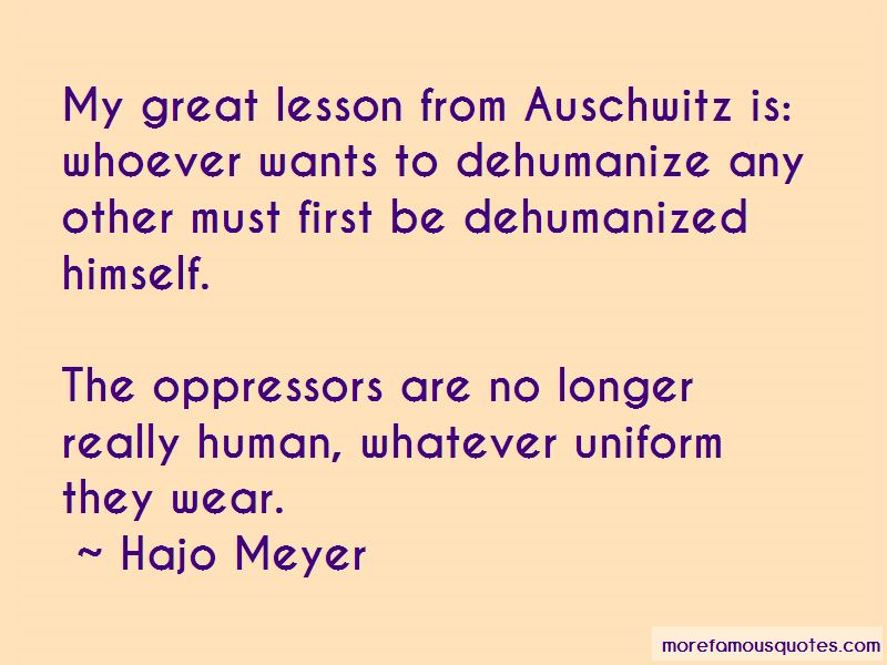 Hajo Meyer Quotes Pictures 2