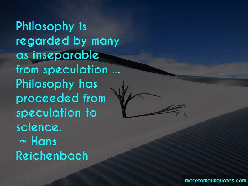 Hans Reichenbach Quotes Pictures 2