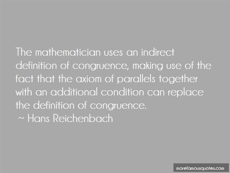 Hans Reichenbach Quotes Pictures 3