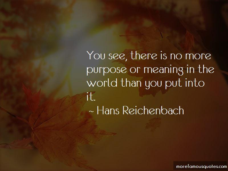 Hans Reichenbach Quotes Pictures 4