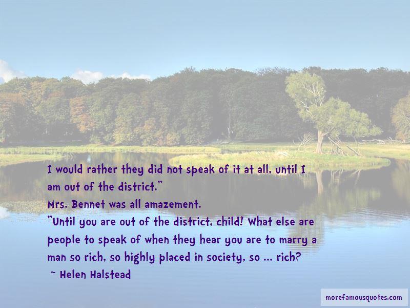 Helen Halstead Quotes