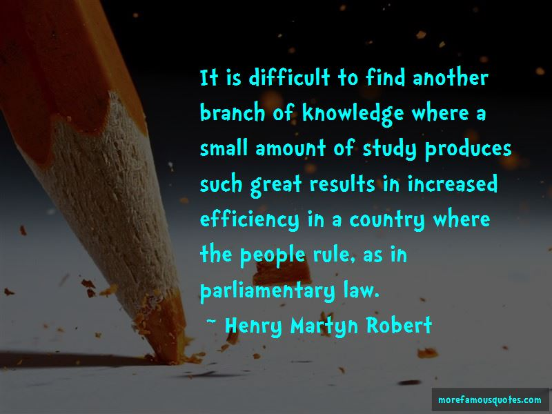 Henry Martyn Robert Quotes Pictures 2