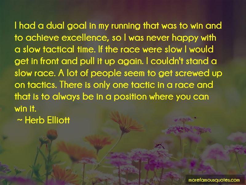 Herb Elliott Quotes